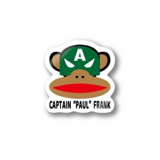 "CAPTAIN  ""PAUL""  FRANK Stickers"