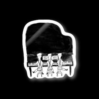 室井雑貨屋のピアノトリオ Stickers