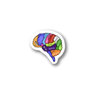 Brain【脳】 Stickers