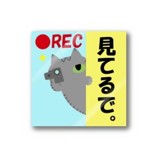 ドラレコステッカーサバトラ Stickers
