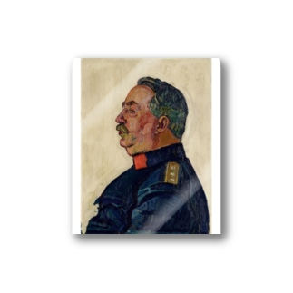 Portrait of General Ulrich Wille Stickers