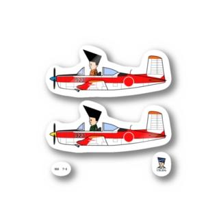 033 T3(くうじさん) Stickers