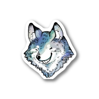 オオカミ Stickers