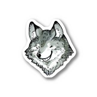 オオカミ Sticker