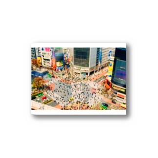 今日の渋谷。 ステッカー