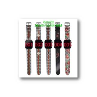 グッチ アップルウォッチ バンド ベルト パロディ風 Stickers