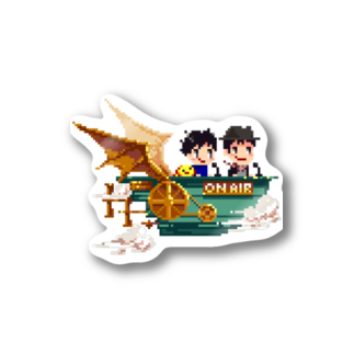 hitotukashiのかしまくんといとうくん2 Stickers