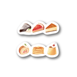 【sweets】ケーキ / デザート Stickers