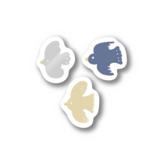 とりさん1 Stickers
