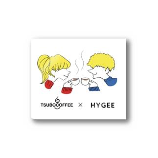 HYGGE × Tsubo Coffee ステッカー Sticker