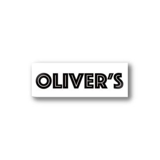Oliver's logo ステッカー