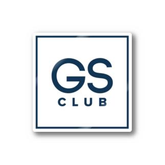 GS Clubのロゴ入り商品 Stickers