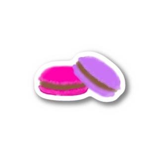 マカロン ステッカー Stickers