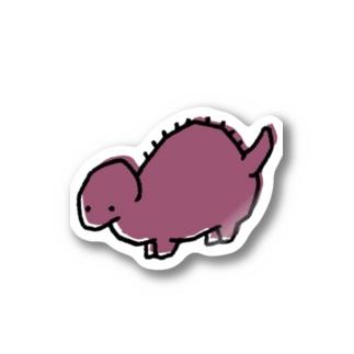 ステゴサウルスくん Stickers