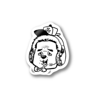 ステッカー品川家キャップ Stickers