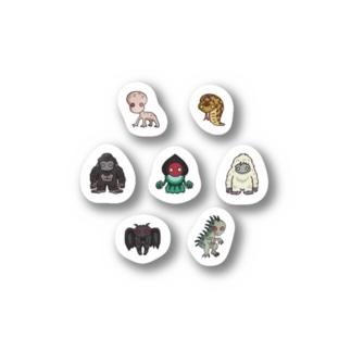 2.5等身UMA ステッカー no.1 Stickers
