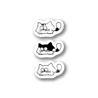 うちのネコ(お徳用) Stickers