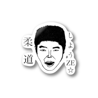 TOJIN series NO1 'JYUDO' Stickers