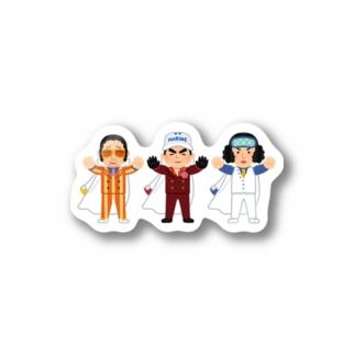 海軍3大将 ワンピース Stickers