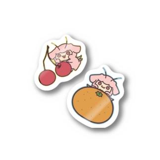 くだもの Stickers