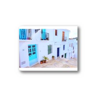 白い街フリヒリアナ Stickers
