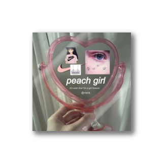 peach  girl Stickers