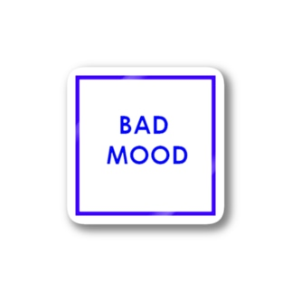 BAD  MOOD  Stickers