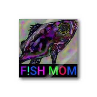 F!SH MOM 「メバル」ロゴ入り Stickers