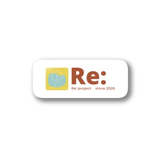 Re:project 飛躍 ステッカー Stickers