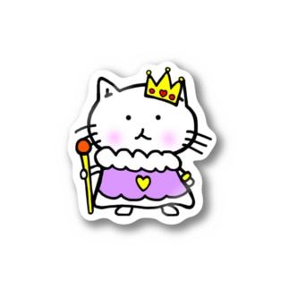 Queen of neko Sticker