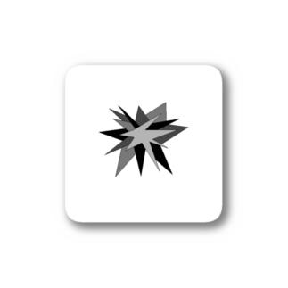 モノトーン(破裂) Stickers