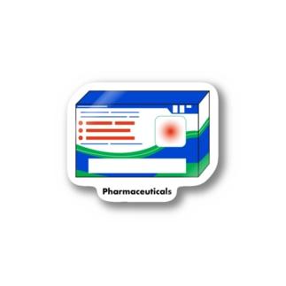 Pharmaceuticals Stickers