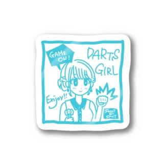 GAME ON! 【SWEET LIGHTBLUE】 Stickers