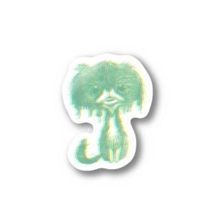 dog M Stickers