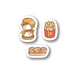 🐹🍔🍟🐙 Stickers