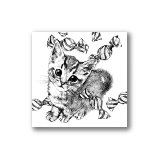 Candy Cat Stickers