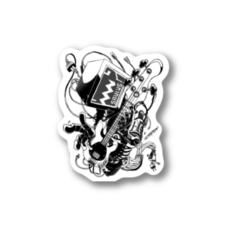 【ROCKOLOID SAULUS】type-BASS Stickers