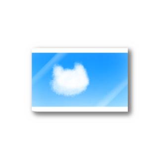 猫の雲が浮かぶ空 Stickers