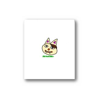 #なちゅらるはいの#なちゅらるはい  みけゾンビねこ Stickers