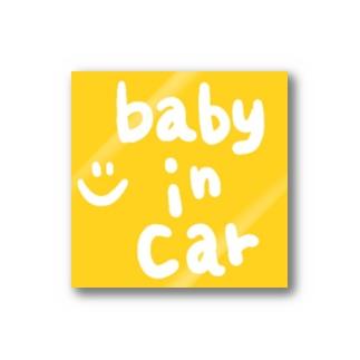 babyincar ステッカー ☺︎ Stickers