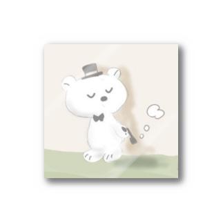 紳士クマ Stickers