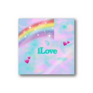 iLoveステッカー Stickers