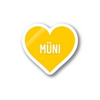 MUNI Stickers