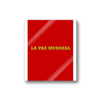 LA PAZ MUNDIAL Stickers