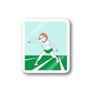 反復跳び子 Stickers