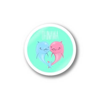 OKINAWA[イルカ] Stickers
