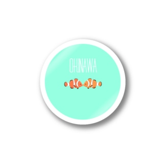 OKINAWA[カクレクマノミ] Stickers