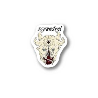 スカウンドレル Stickers