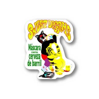 SWEET DREAMS スリーパーホールド Stickers