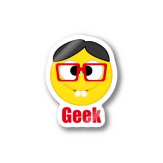 Geek ステッカー